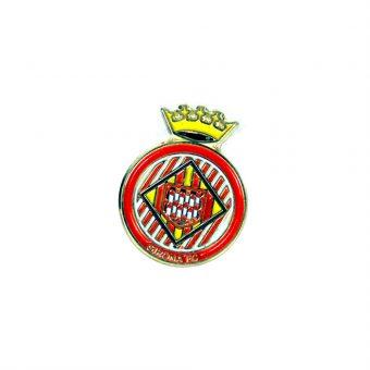 Pin  escut Girona FC color daurat