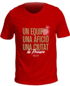 Samarreta ascens Girona FC