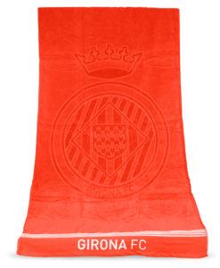 Tovallola platja Girona FC