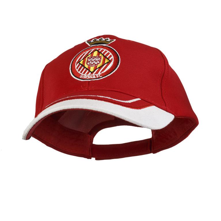 Gorra vermella Girona FC