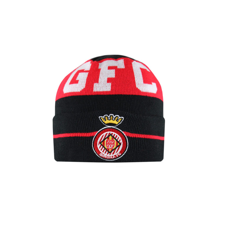 Gorro negre Girona FC nen
