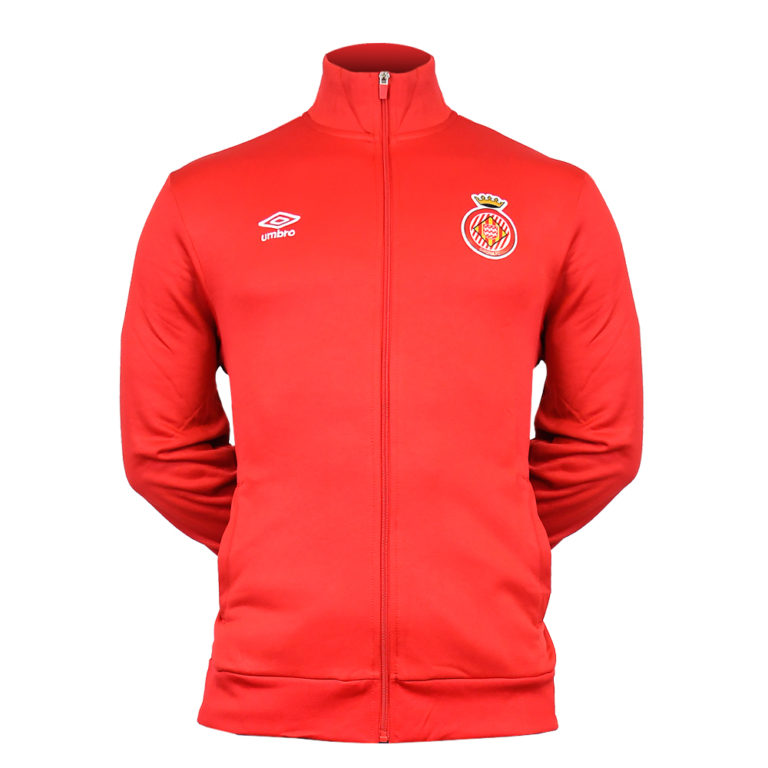 jaqueta passeig Girona FC vermella