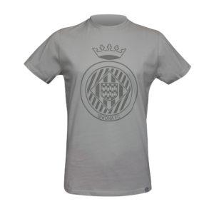 Samarreta Escut Girona FC gris clar