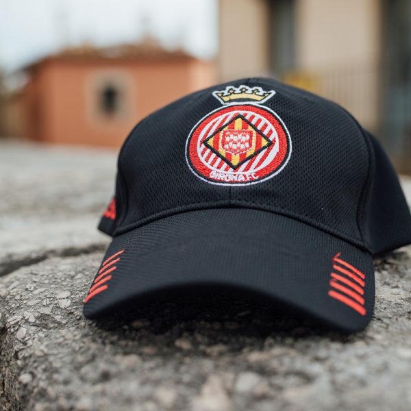 Gorra Girona FC Negre