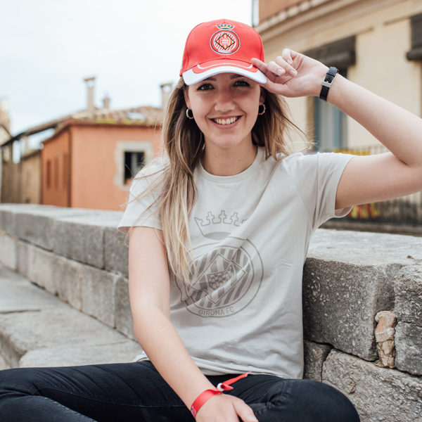 Gorra Girona FC Vermella